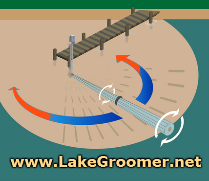 Lake Groomer Lake Roller Weed Removal